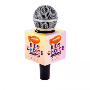 Kids choice mic flag