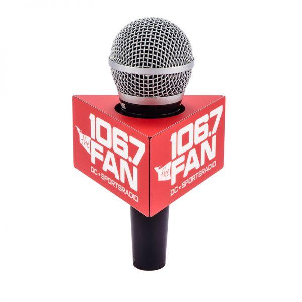 106.7 Fan mic flag