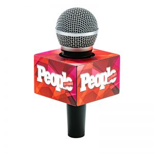 People mic flag