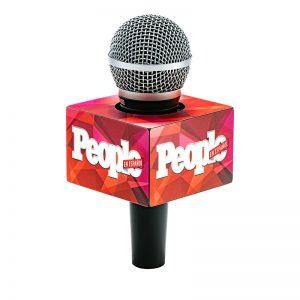 People mic flag