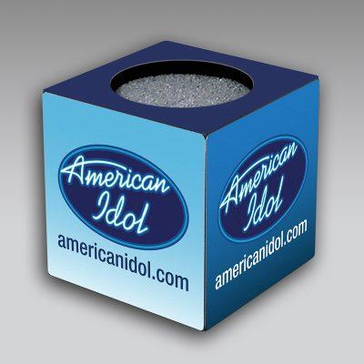 Amer Idol mic flag