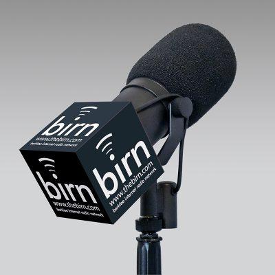 Berklee mic flag