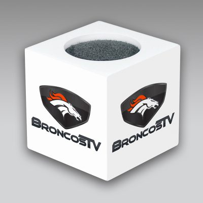 Broncos mic flag