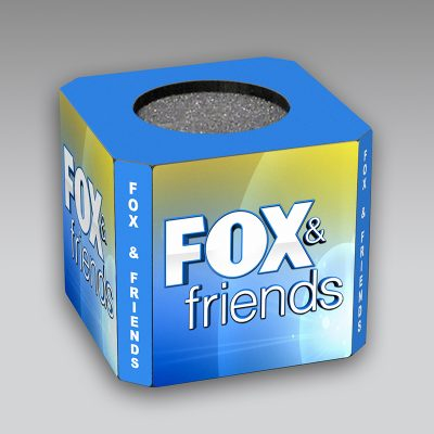 FOX Friends mic flag