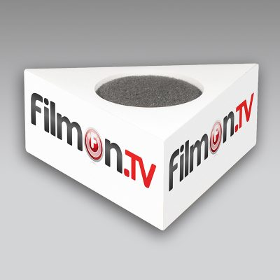 Film On TV mic flag