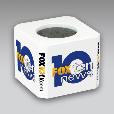 Fox 10 mic flag