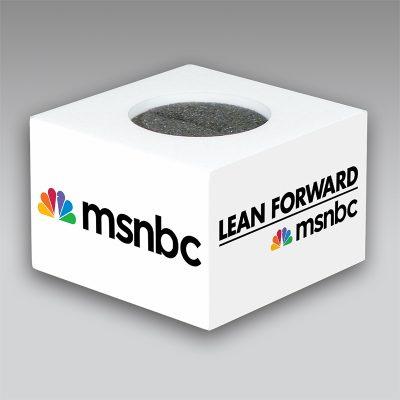 MSNBC mic flag