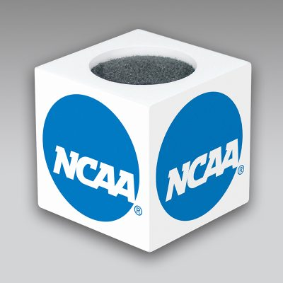NCAA mic flag
