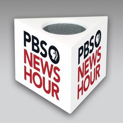 PBS mic flag