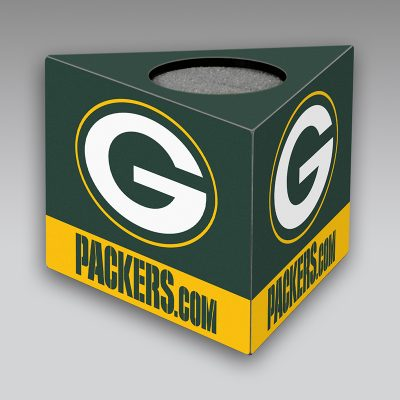 Packers mic flag