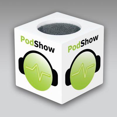 PodShow mic flag