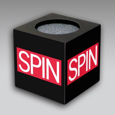 Spin mic flag