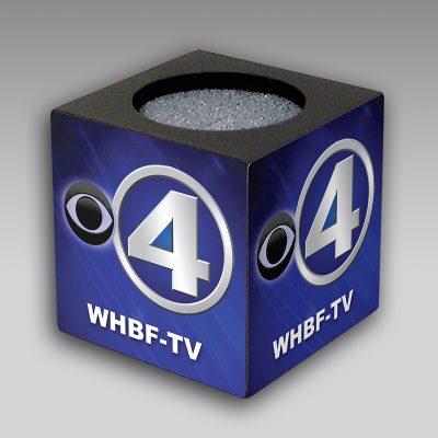 WHBF mic flag