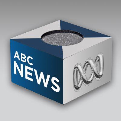 ABC Australia mic flag