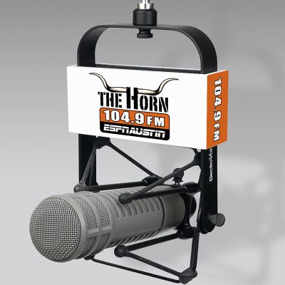 The Horn mic flag