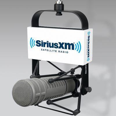 SiriusXM mic flag