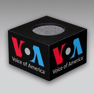 VOA mic flag