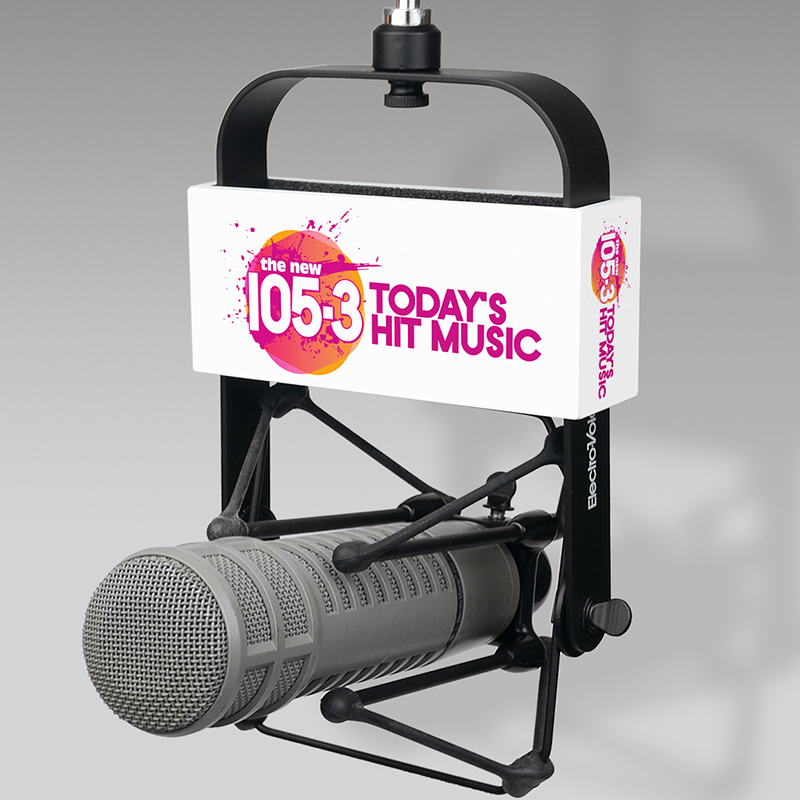 Radio mic flags