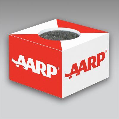 AARP mic flag