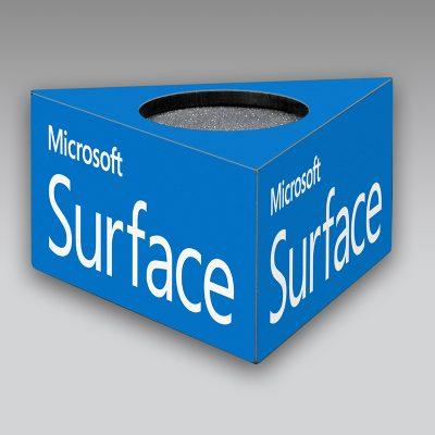 Microsoft mic flag