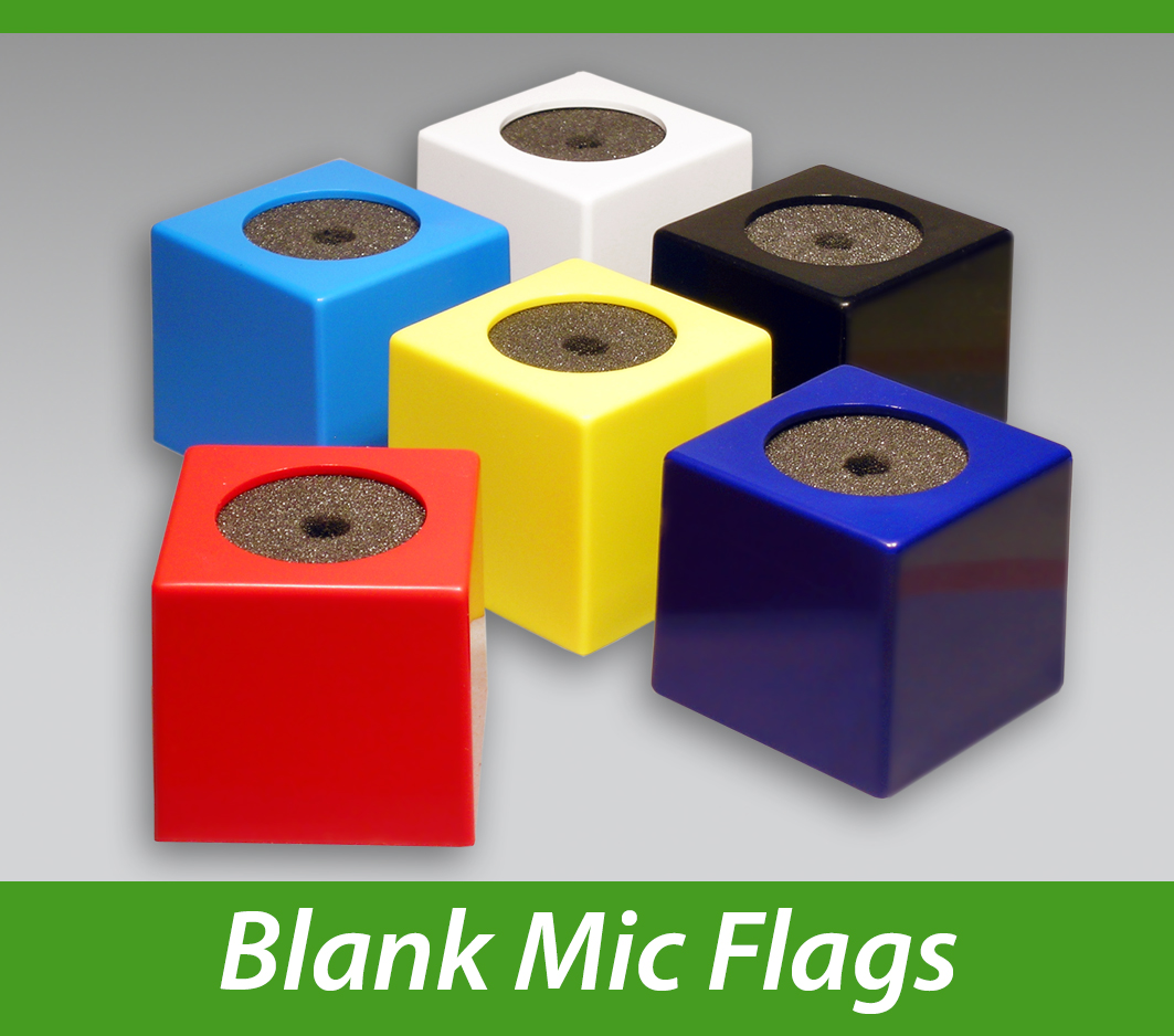 Blank Mic Flags Impact PBS