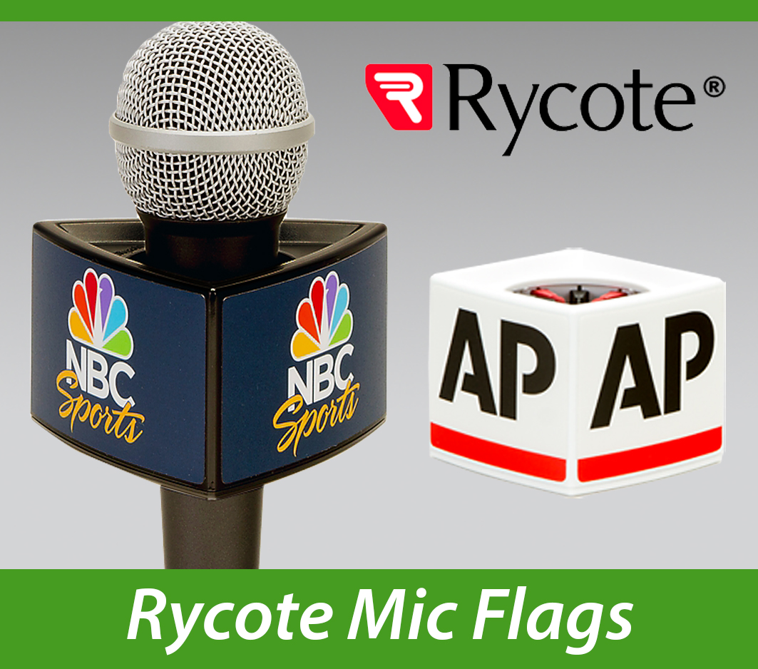Rycote Custom Mic Flags Impact PBS