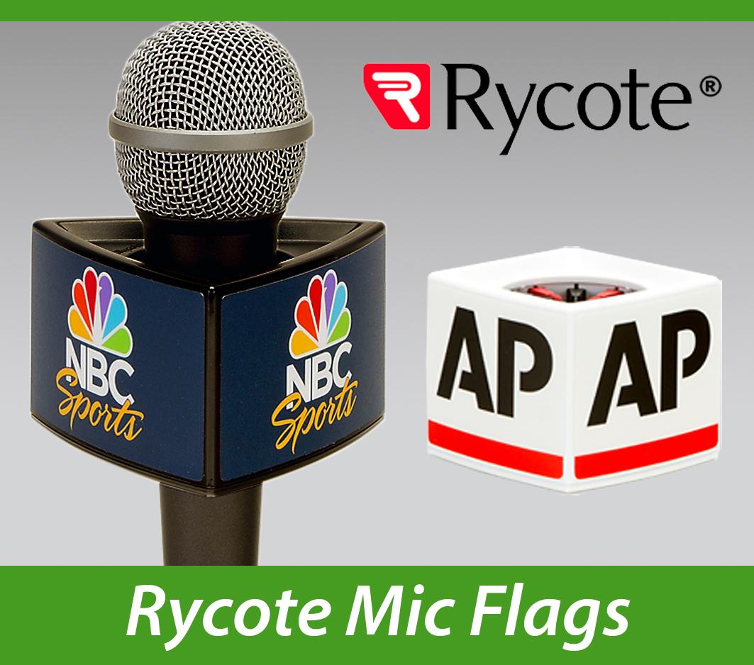 Rycote Custom Mic Flags Impact PBS